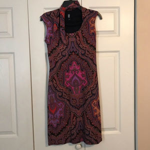 LAUNDRY SHELLI SEGAL 2 Pink Floral Dress Made USA